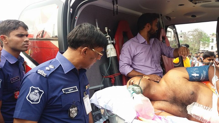 এসআই-আসাদ-SI Arshad to send helicopter to Dhaka for better treatment
