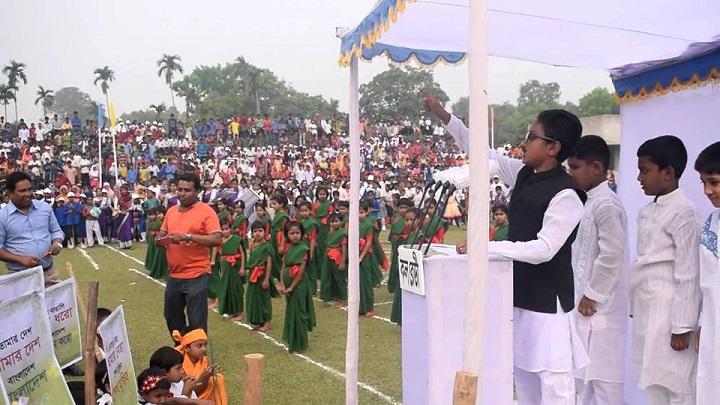 স্বাধীনতা-দিবস-Celebrate the great Independence Day at the highest honor in Gauripur