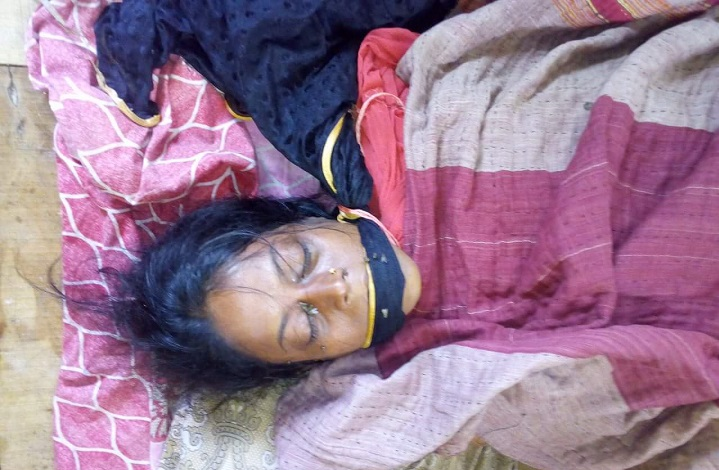 Mymensingh's husband's wife was murdered by her husband