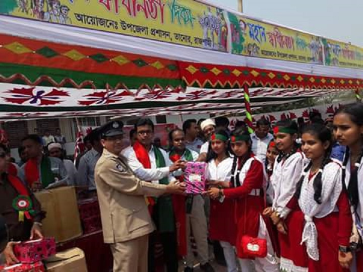 Tannore celebrated Independence Day with due respect
