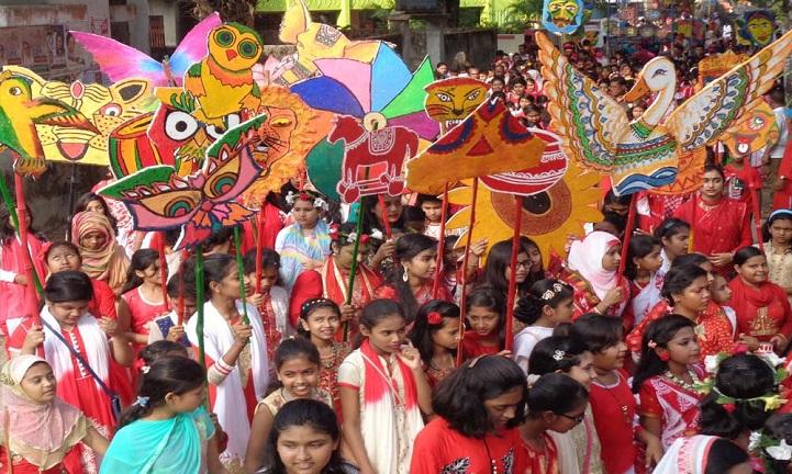 ঝালকাঠিতে-বৈশাখ-বরণ-Boishakh welcome in Jhalokathi