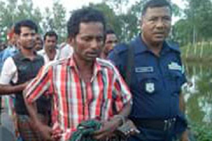 ধান-ক্ষেতে-শিশুকে-ধর্ষণ-Detained during the attempt to rape 8 year old child in Dhanbari rice field