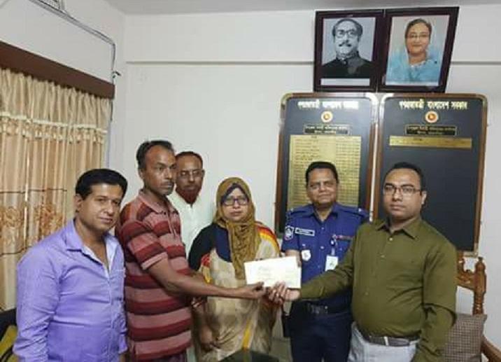 প্রধানমন্ত্রীর-তহবিল-Checks received from Prime Minister's fund