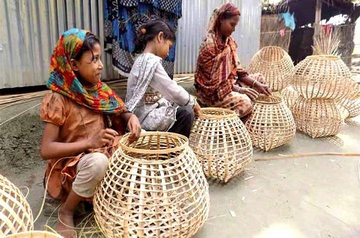 বাঁশ-বেত-শিল্প-Bamboo and cane industries are losing touch to modernity in Bagerhat