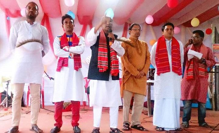 বাংলা-মঞ্চের-বর্ষবরণ-The Bangla Stage is organized in Gouripur