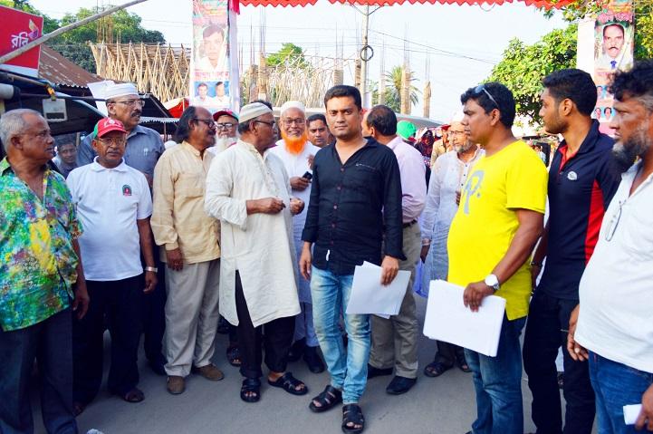 মনোনয়ন-প্রত্যাশীর-গনসংযোগ-Public relations of Awami League's nominees for Munshiganj-1 constituency
