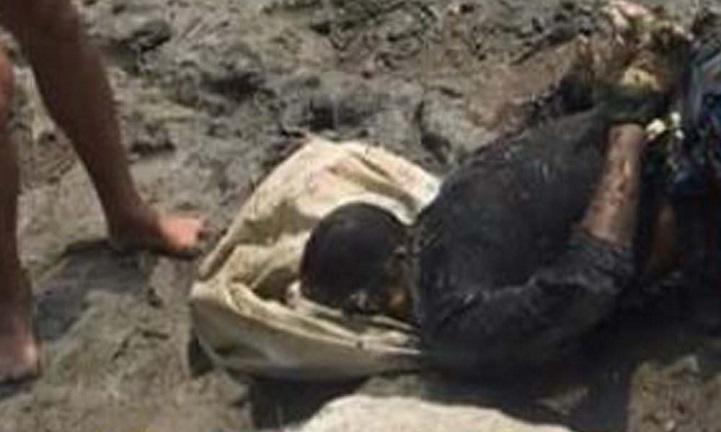 মরদেহ-উদ্ধার-The body of an unidentified youth was recovered from the Bishkhali river