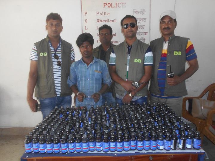 মাদক-সম্রাট-আটক-DNA detained in drug raid in Jhenidah