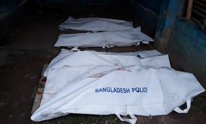 মুখোমুখি-সংঘর্ষে-নিহত-At least four people were killed in a clash between the Rangpur-Bogra highway, 20 injured