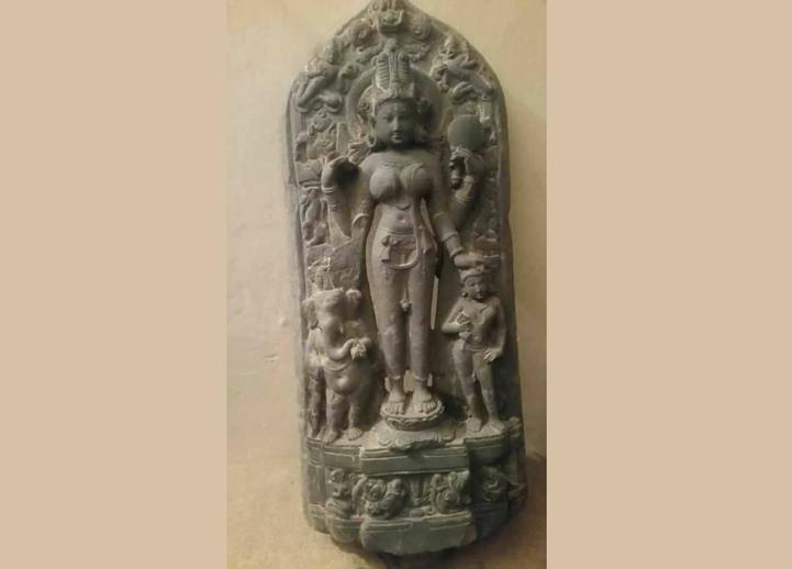 মূর্তি-উদ্ধার-Gobindaganj re-image of ancient period recovered