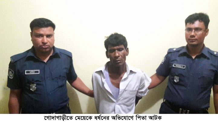 মেয়েকে-ধর্ষন-Father detained in Godagari for raping a girl