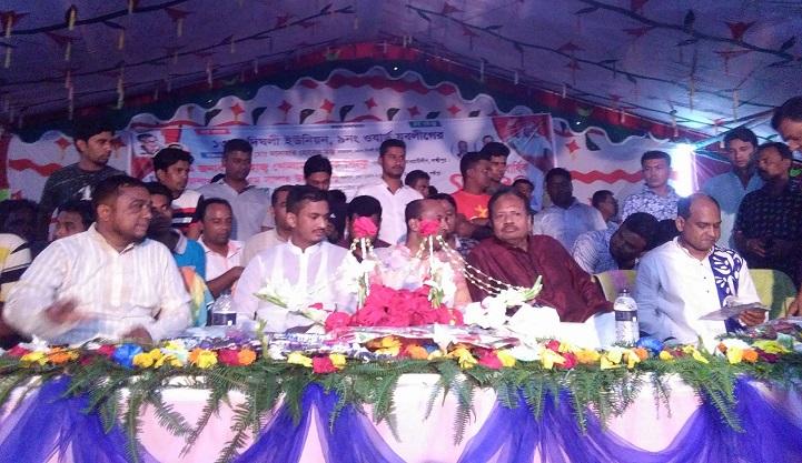 যুবলীগের-সম্মেলন-Jubo League conference in Dighali at Lakshmipur