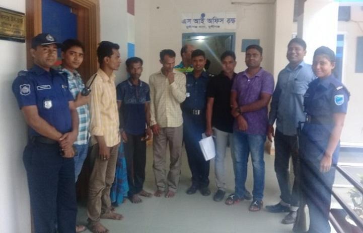 ইয়াবার-আড্ডা-Munshiganj arrested from Yaba chat with Gazas 4