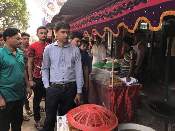 গোদাগাড়ীতে পবিত্র মাহে রমজান উপলক্ষে বাজার মনিটরিং