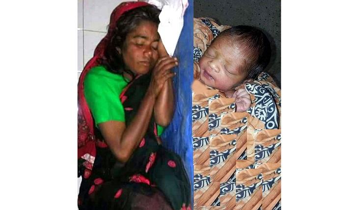 ঝিনাইদহে মানসিক প্রতিবন্ধি নারী বাবা ছাড়াই কন্যা সন্তান জন্ম দিয়ে মা