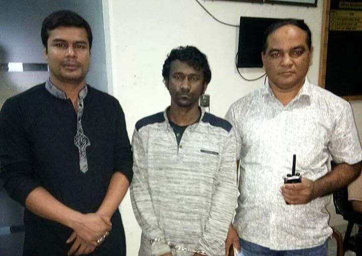 পিস্তল-ইয়াবা-Mymensingh arrested with pistol and yawas-1