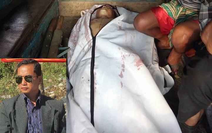 শক্তিমান-চাকমা-Naniarchar Upazila chairman shot dead