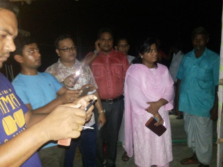 ডিমলায় সরকারী চাউল জব্দ ও গুদাম সিলগালা