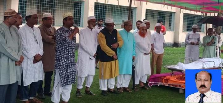 গোবিন্দগঞ্জ- ৪ আসনের প্রাক্তন সংসদ সদস্য মরহুম আব্দুল মান্নানের জানাযা