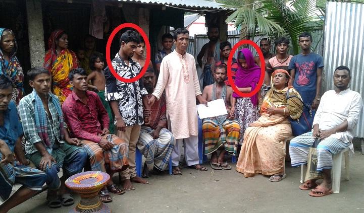 কিশোরগঞ্জে মেম্বারের হস্তক্ষেপে বাল্যবিবাহ বন্ধ