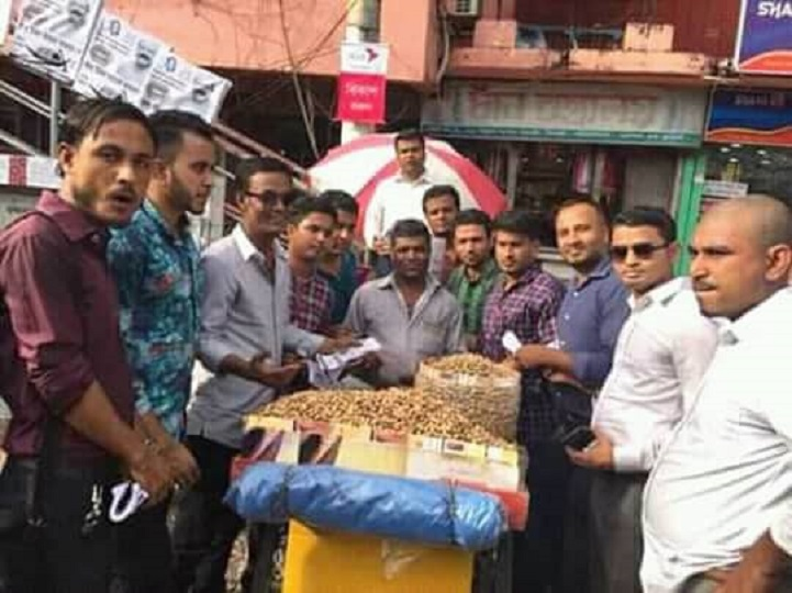 মৌলভীবাজার জেলা ছাত্রদলের গনসংযোগ