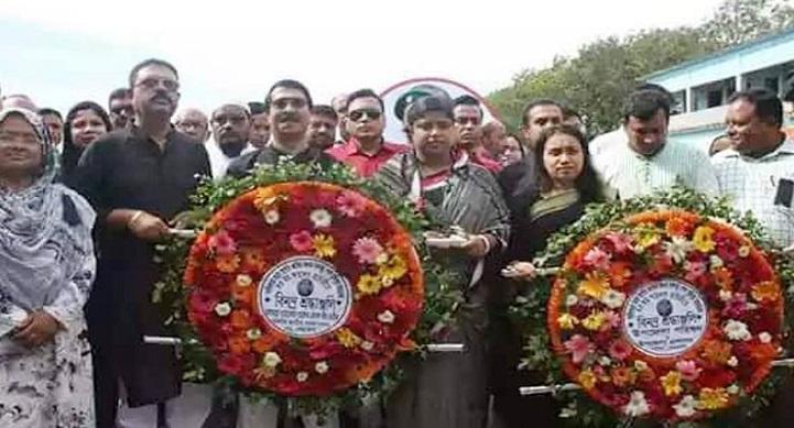 পূর্বধলায় বঙ্গবন্ধু শেখ মুজিবুর রহমানের ৪৩তম শাহাদাত বার্ষিকী পালিত
