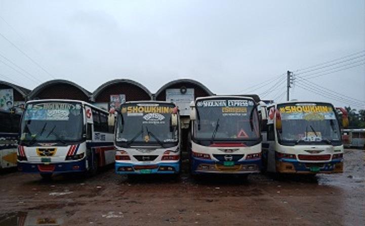 আজও ময়মনসিংহে দূরপাল্লার বাস চলাচল বন্ধ