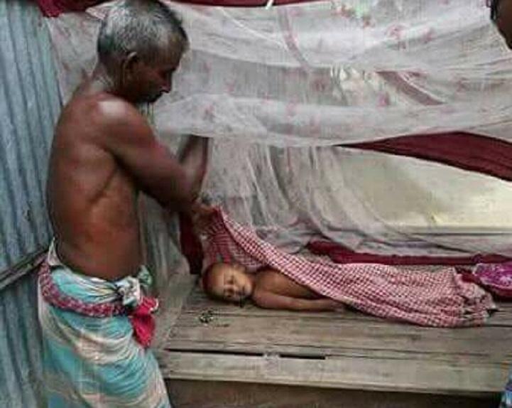 সাদুল্লাপুরে পানিতে পড়ে শিশুর মৃত্যু