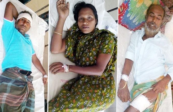 ঈদগাহের উন্নয়ন মিটিং-এ উপস্থিত না হওয়ায় হামলা: আহত-৪