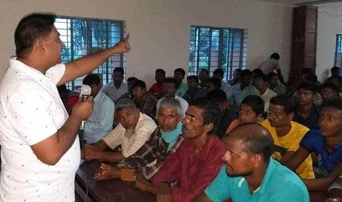 গোদাগাড়ীতে যুবলীগের বর্ধিত সভা অনুষ্ঠিত