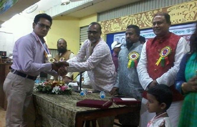 শার্শার ডিহি ইউপি প্যানেল চেয়ারম্যান রানা বিশ্ব শান্তি গোল্ড মেডেল পদকে ভূষিত