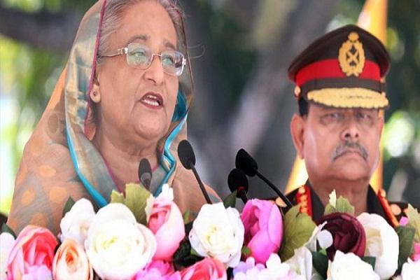 যেকোন হুমকি মোকাবিলায় সেনাবাহিনীকে প্রস্তুত থাকতে হবে: প্রধানমন্ত্রী