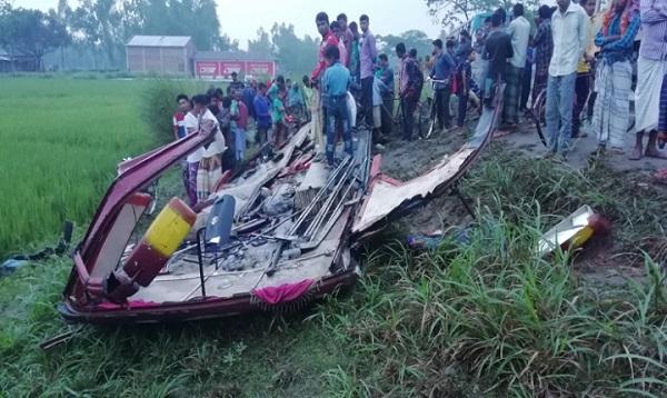 পরিচয় মিলেছে গোবিন্দগঞ্জে দুর্ঘটনায় নিহত ৫ জনের