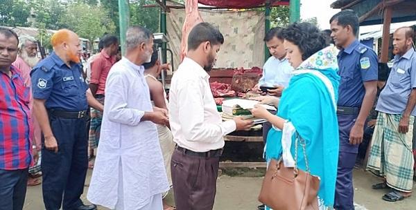 গৌরীপুরে ভ্রাম্যমাণ আদালতের অভিযানে ২০ হাজার টাকা জরিমানা