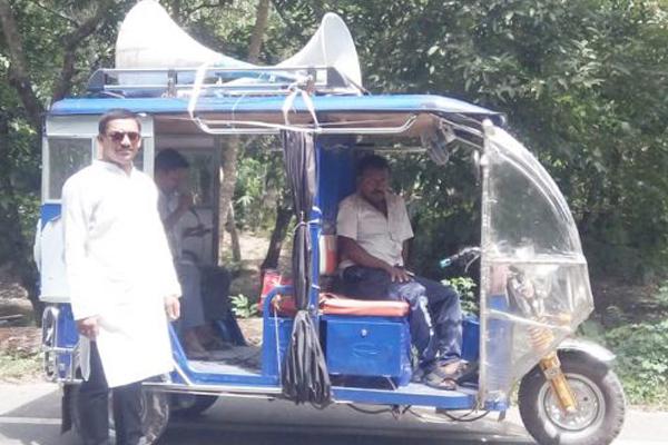গুজবে কান না দিতে আগৈলঝাড়ায় গৈলা ইউনিয়ন পরিষদের উদ্যোগে মাইকিং