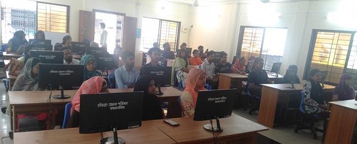ময়মনসিংহ জেলা পরিষদে কম্পিউটার প্রশিক্ষণ কোর্সের উদ্বোধন
