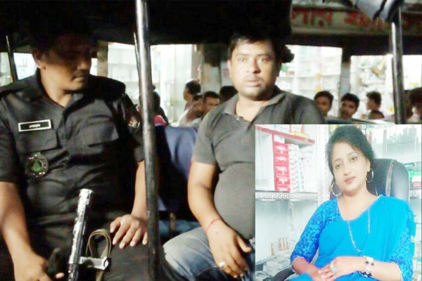 বরিশালে নকল ওষুধ বিক্রেতা টিকটক শিরিনের কারাদন্ড