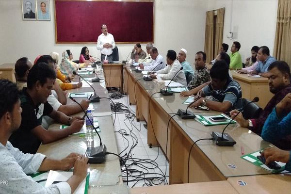 ময়মনসিংহ জেলা পরিষদে মাসিক সভা অনুষ্ঠিত