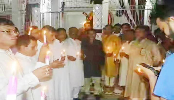 আগৈলঝাড়ায় শ্যামাপূঁজা ও শুভ দীপাবলি উৎসব অনুষ্ঠিত