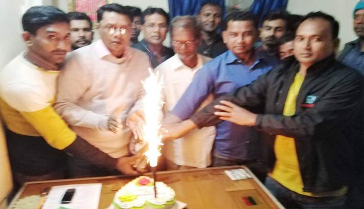 পুঠিয়ায় পৌর যুবদলের উদ্দ্যোগে তারেক রহমানের ৫৫তম জন্মদিন পালন